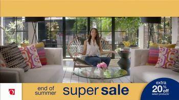 Overstock.com End of Summer Super Sale TV Spot, 'Table Runner: 20 Percent' - Thumbnail 7