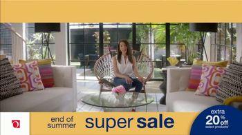 Overstock.com End of Summer Super Sale TV Spot, 'Table Runner: 20 Percent' - Thumbnail 8