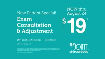 The Joint Chiropractic New Patient Special TV Spot, 'Life Moves: $19' - Thumbnail 9