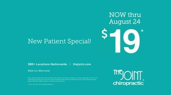 The Joint Chiropractic New Patient Special TV Spot, 'Life Moves: $19' - Thumbnail 8