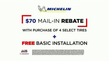 Tire Kingdom TV Spot, 'Michelin Reward Card, Mail-In Rebate & Installation' - Thumbnail 9