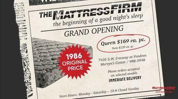 Mattress Firm Flashback Sale TV Spot, 'Throwback Deals' - Thumbnail 2