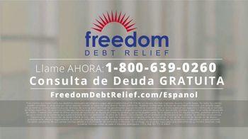 Freedom Debt Relief TV Spot, 'Libre de deudas' [Spanish] - Thumbnail 7