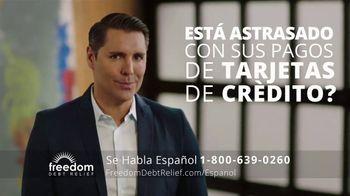 Freedom Debt Relief TV Spot, 'Libre de deudas' [Spanish]