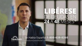 Freedom Debt Relief TV Spot, 'Libre de deudas' [Spanish] - Thumbnail 2