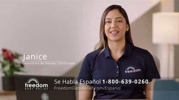 Freedom Debt Relief TV Spot, 'Libre de deudas' [Spanish] - Thumbnail 3