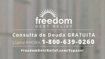 Freedom Debt Relief TV Spot, 'Libre de deudas' [Spanish] - Thumbnail 4
