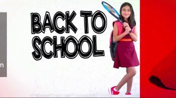 Tennis Express Back to School Sale TV Spot, 'Style to Match Your Game'
