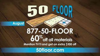 50 Floor TV Spot, 'CBS 11: Easy Installation' - Thumbnail 10