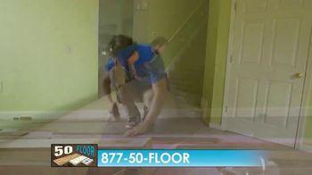 50 Floor TV Spot, 'CBS 11: Easy Installation' - Thumbnail 8
