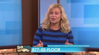 50 Floor TV Spot, 'CBS 11: Easy Installation' - Thumbnail 9