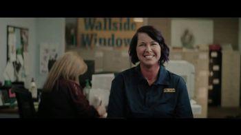 Wallside Windows TV Spot, 'Dedicated Team'