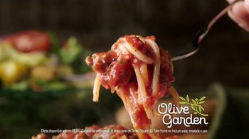 Olive Garden $5 Take Home Entrees TV Spot, 'Qué tal dos' [Spanish] - Thumbnail 8