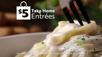 Olive Garden $5 Take Home Entrees TV Spot, 'Qué tal dos' [Spanish] - Thumbnail 6