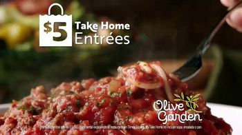 Olive Garden $5 Take Home Entrees TV Spot, 'Qué tal dos' [Spanish] - Thumbnail 7