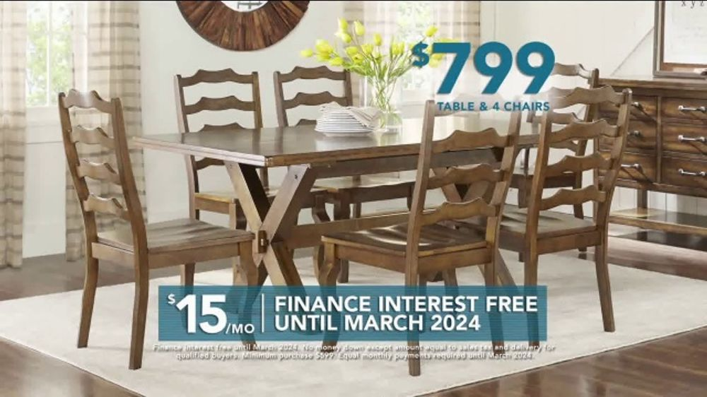 Rooms To Go Tv Commercial 2019 Labor Day Dining Sets Video