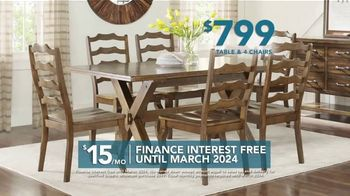 Rooms to Go TV Spot, 'Labor Day: Dining Sets' - Thumbnail 4