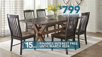 Rooms to Go TV Spot, 'Labor Day: Dining Sets' - Thumbnail 5