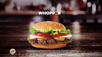 Burger King 2 for $7 TV Spot, 'Mix or Match: Impossible Whopper' - Thumbnail 6