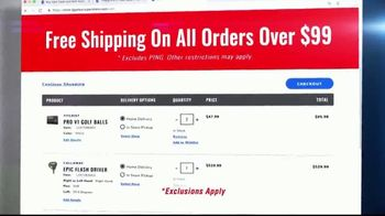 PGA Superstore TV Spot, 'Free Shipping on All Orders' - Thumbnail 7