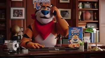 Frosted Flakes TV Spot, 'Mission Tiger: We Have a Problem' Featuring Ben Simmons