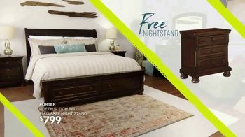 Ashley HomeStore Summer Sleep Sale TV Spot, 'One Week Only: Free Nightstand' Song by Midnight Riot - Thumbnail 6