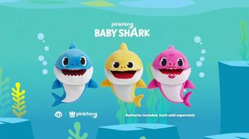 Pinkfong Baby Shark Puppets TV Spot, 'Baby Shark Puppets Sing Fast and Slow' Song by Pinkfong - Thumbnail 8