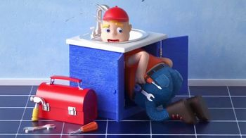 Plumber Pants TV Spot, 'Fixing the Sink' - Thumbnail 9