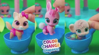 T.O.T.S. Nursery Headquarters Playset TV Spot, 'Color Change Diapers' - Thumbnail 9