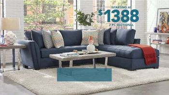 Rooms to Go TV Spot, 'Labor Day: Two Piece Sectional' - Thumbnail 3