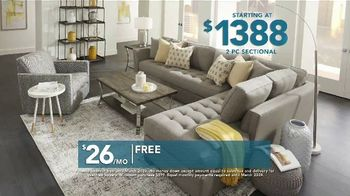 Rooms to Go TV Spot, 'Labor Day: Two Piece Sectional' - Thumbnail 4