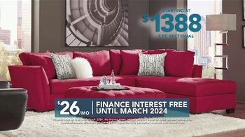 Rooms to Go TV Spot, 'Labor Day: Two Piece Sectional' - Thumbnail 5