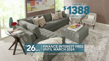 Rooms to Go TV Spot, 'Labor Day: Two Piece Sectional' - Thumbnail 6