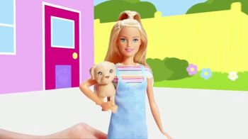 Barbie Play 'N' Wash Pets TV Spot, 'Color Change Clean up' - Thumbnail 1