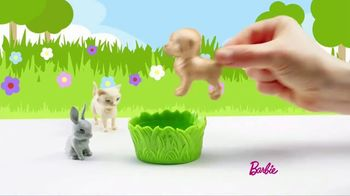 Barbie Play 'N' Wash Pets TV Spot, 'Color Change Clean up' - Thumbnail 3