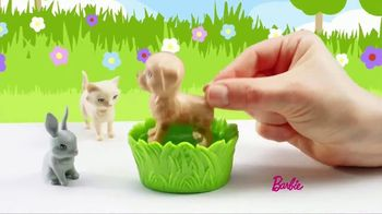 Barbie Play 'N' Wash Pets TV Spot, 'Color Change Clean up' - Thumbnail 4