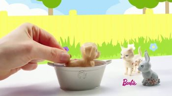 Barbie Play 'N' Wash Pets TV Spot, 'Color Change Clean up' - Thumbnail 5