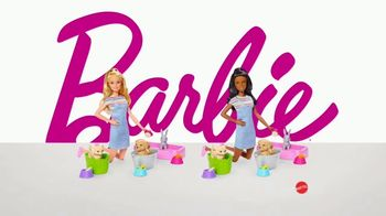 Barbie Play 'N' Wash Pets TV Spot, 'Color Change Clean up' - Thumbnail 8