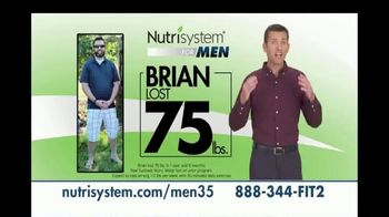 Nutrisystem for Men TV Spot, 'Today's the Day: 13 Pounds'