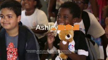 Ashley HomeStore Summer Sleep Sale TV Spot, 'Hope to Dream: Buy a Mattress, Give a Mattress' - Thumbnail 10