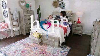 Ashley HomeStore Summer Sleep Sale TV Spot, 'Hope to Dream: Buy a Mattress, Give a Mattress' - Thumbnail 2