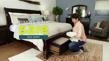 Ashley HomeStore Summer Sleep Sale TV Spot, 'Rest Happy' Song by Midnight Riot - Thumbnail 2