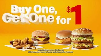 McDonald's Buy One, Get One for $1 Deal TV Spot, 'Movers' - Thumbnail 7