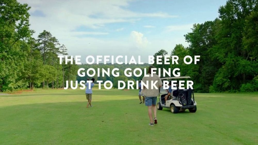 Coors Light TV Commercial, 'The Official Beer of Going Golfing Just to Drink Beer' Song by Chad & Je