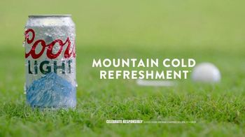 Coors Light TV Spot, 'The Official Beer of Going Golfing Just to Drink Beer' Song by Chad & Jeremy - Thumbnail 10