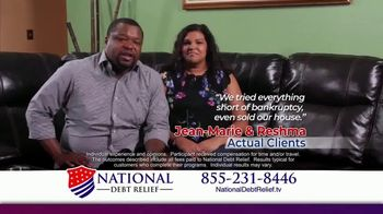 National Debt Relief TV Spot, 'Jean-Marie & Reshma'