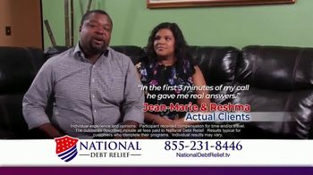 National Debt Relief TV Spot, 'Jean-Marie & Reshma' - Thumbnail 4