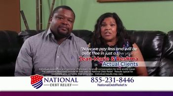 National Debt Relief TV Spot, 'Jean-Marie & Reshma' - Thumbnail 6