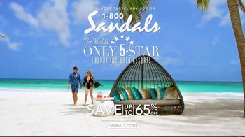 Sandals Resorts TV Spot, 'More Than a Five Star Destination' - Thumbnail 8