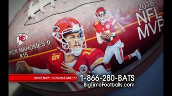 Big Time Bats TV Spot, 'Patrick Mahomes 2018 NFL MVP Art Football' - Thumbnail 1